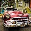 Kubanska kola slike na platnu