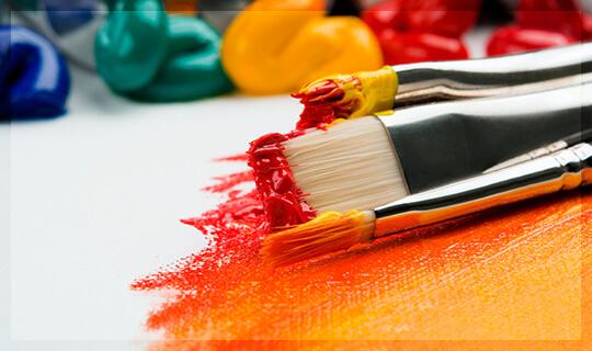 Živopisne boje za štampu