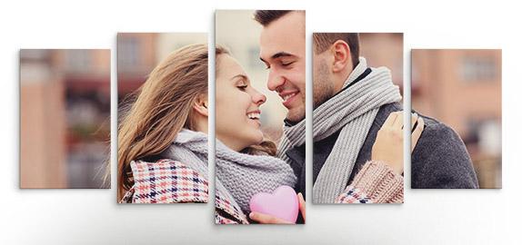 Multipanel slike na platnu