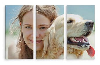 Triptih slike na platnu